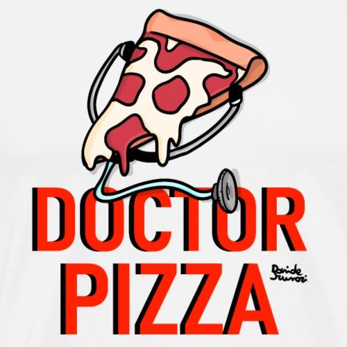 Doctor Pizza logo - Maglietta Premium da uomo