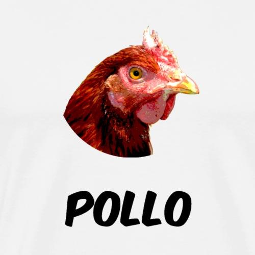 POLLO - Maglietta Premium da uomo