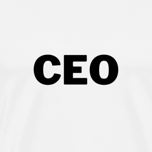 CEO, Entrepreneur | Tee with a cause - Männer Premium T-Shirt
