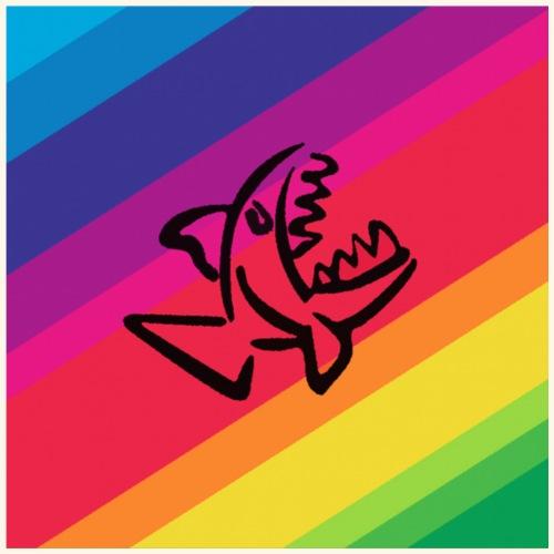 Pesce arcobaleno - Maglietta Premium da uomo