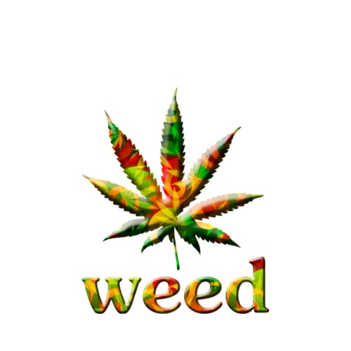 marijuana leaf - Männer Premium T-Shirt