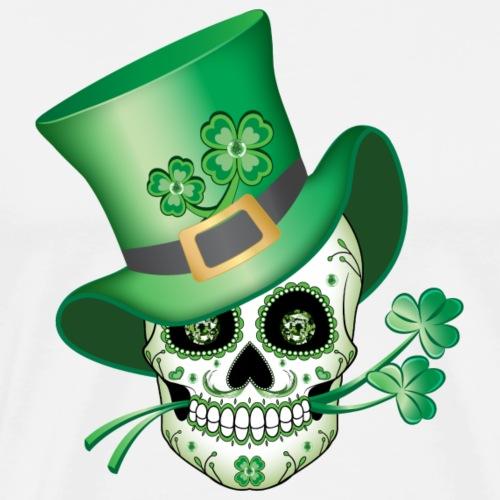 Irish Sugar Skull - Men's Premium T-Shirt