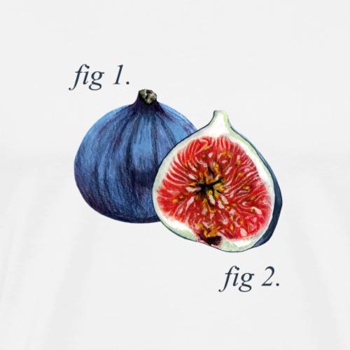 Fig1. Figs Diagram. - Men's Premium T-Shirt