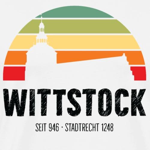 Wittstock Retro Look - Männer Premium T-Shirt