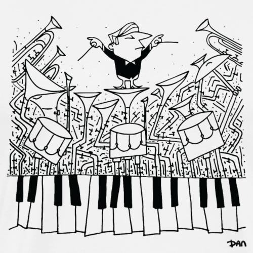 Orchestra Man - T-shirt Premium Homme