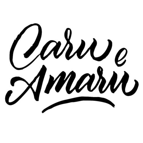Caru e Amaru - Caro e amaro - #siculigrafia - Maglietta Premium da uomo