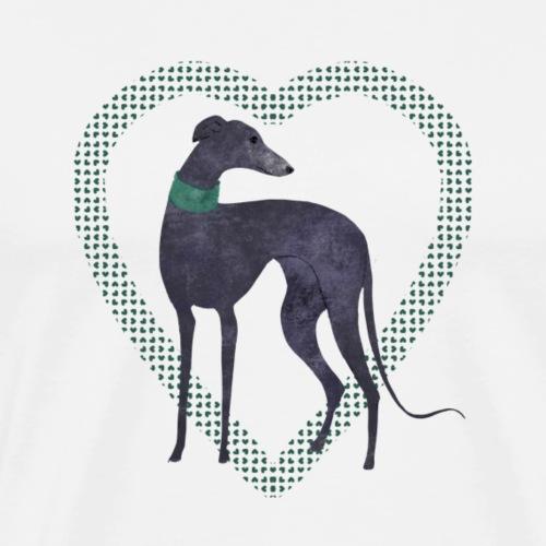 Herzenshund - Männer Premium T-Shirt