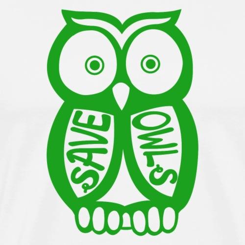 Save owls - T-shirt Premium Homme