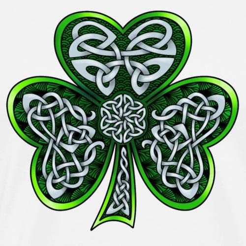 Celtic Shamrock - Men's Premium T-Shirt