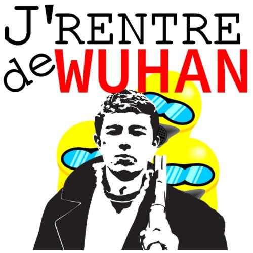 Je rentre de Wuhan - coronavirus - T-shirt Premium Homme