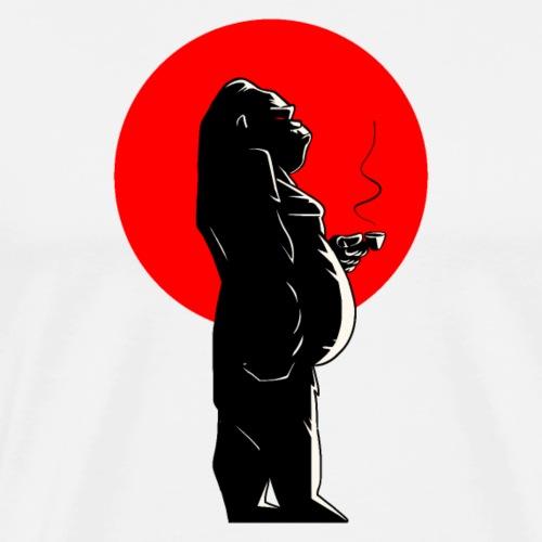 Coffee time & Gorilla - T-shirt Premium Homme