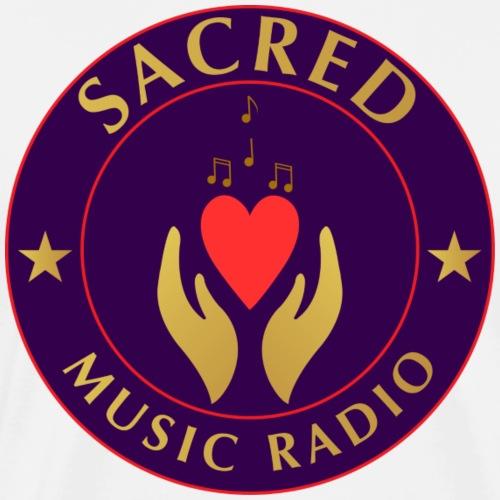 Spread Peace Through Music - Men's Premium T-Shirt