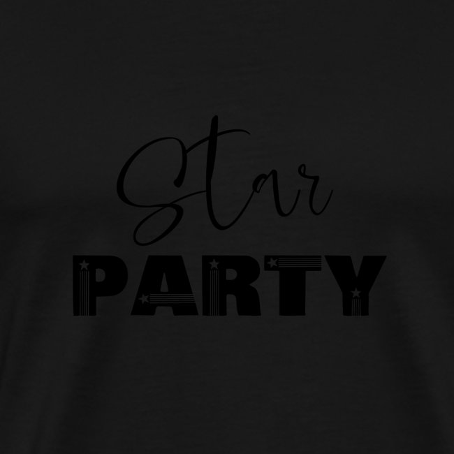 Star party, party, celebration, festival, time
