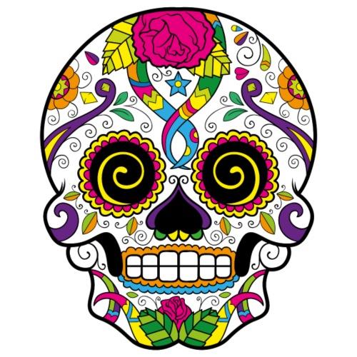 skull3 - Maglietta Premium da uomo