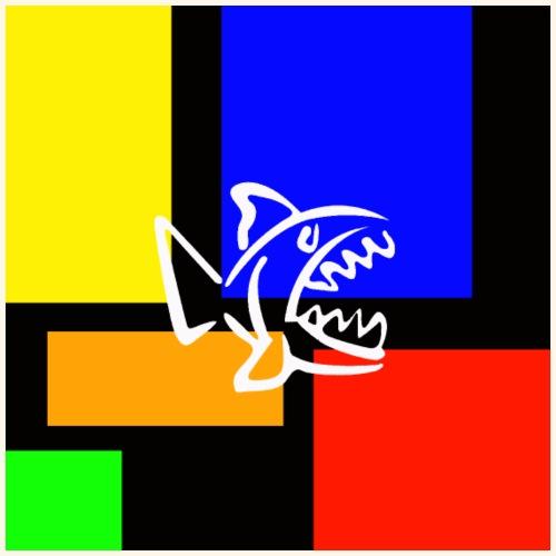 Pesce pop - Maglietta Premium da uomo