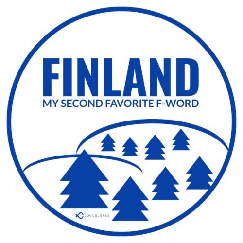 FINLAND - MY SECOND FAVORITE F-WORD - - Men's Premium T-Shirt