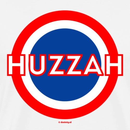 Huzzah - Mannen Premium T-shirt