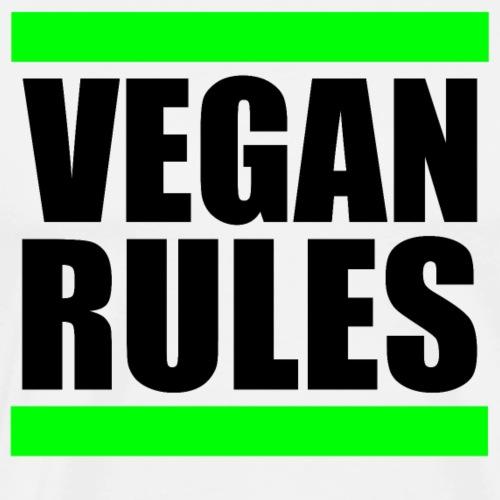 VEGAN RULES - Männer Premium T-Shirt