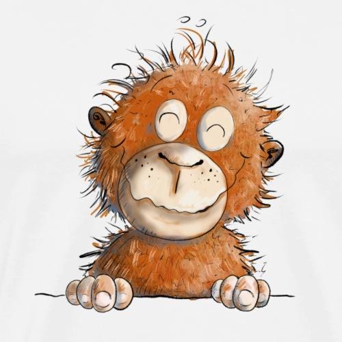 Lustiger Affe I Affenbaby I Orang Utan Baby - Männer Premium T-Shirt