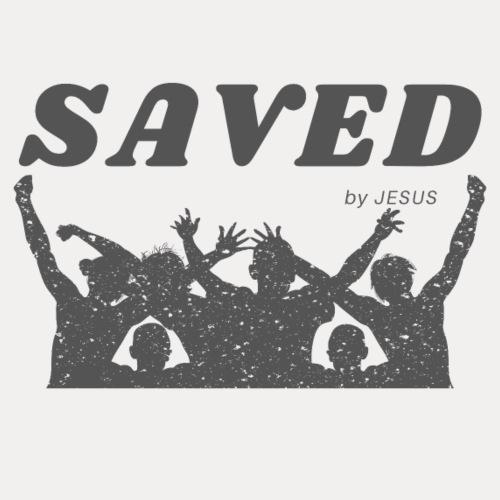 Saved by Jesus - Männer Premium T-Shirt