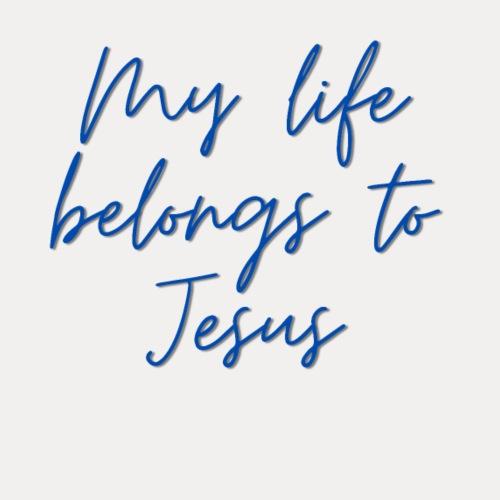 My life belongs to Jesus - Männer Premium T-Shirt