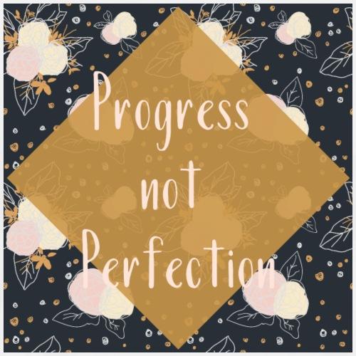 Le progrès, pas la perfection - T-shirt Premium Homme