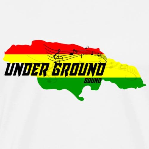 REGGAE- UNDER GROUND SOUND - Männer Premium T-Shirt