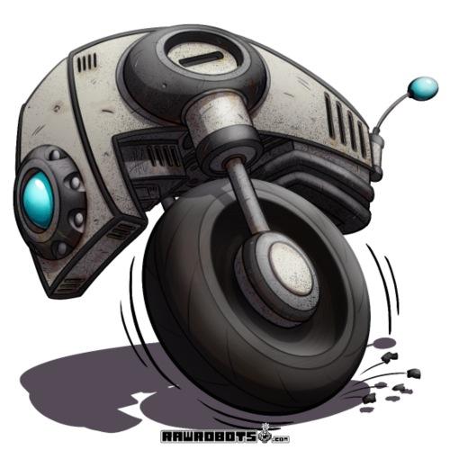 The W.H.E.E.L. Robot! - Herre premium T-shirt