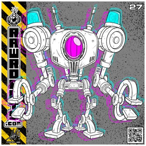 The L.I.G.H.T. Robot! - Herre premium T-shirt