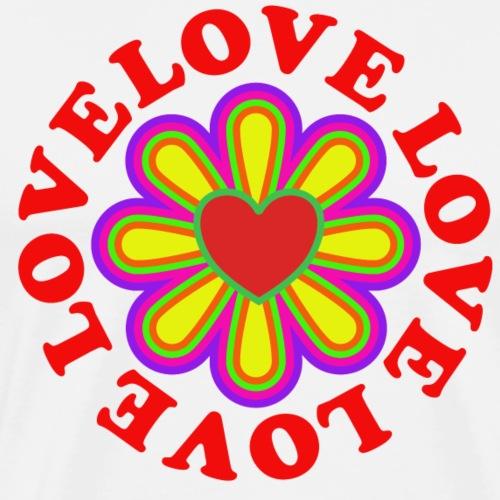 love love love - Men's Premium T-Shirt