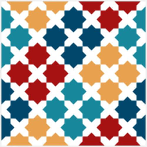 Andalusian Tiles 8 - Men's Premium T-Shirt