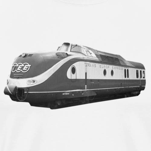 TEE Trans Europ Express Triebzug Bundesbahn Lok - Männer Premium T-Shirt