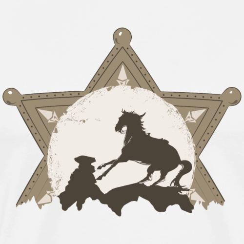 horse farwest - Maglietta Premium da uomo
