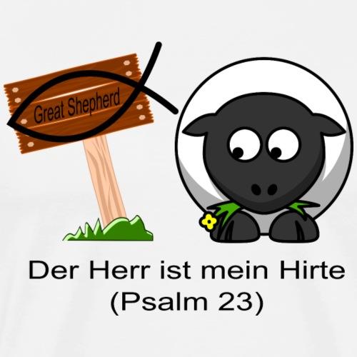 Psam 23 Scharf Vorne - Männer Premium T-Shirt