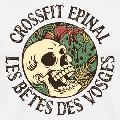 Tropical Skull - T-shirt Premium Homme