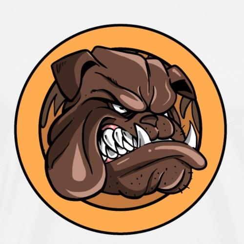 Franky le Bulldog - Simple - T-shirt Premium Homme