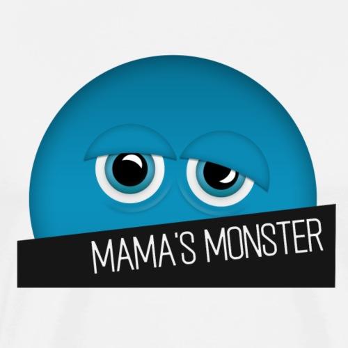emmilino Mama blau transp - Männer Premium T-Shirt