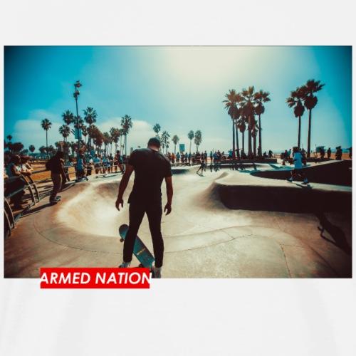 ARMED NATION SKATE 1 - Männer Premium T-Shirt