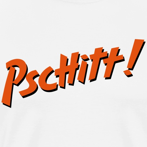 Pschitt Orange - T-shirt Premium Homme