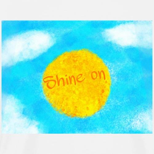Shine on - Maglietta Premium da uomo
