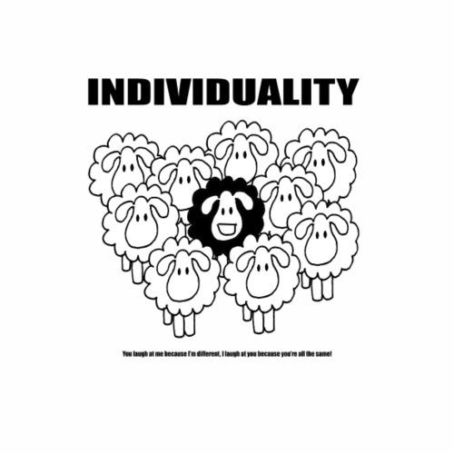 L'individualité - T-shirt Premium Homme