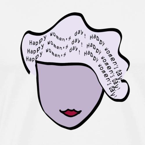 Happy Womens' Day - Internationaler Frauentag - Männer Premium T-Shirt
