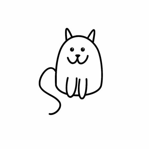 catty cat - Mannen Premium T-shirt