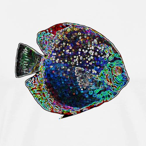 Discus colorato - Maglietta Premium da uomo