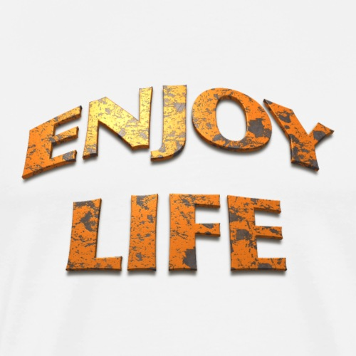 Enjoy life - T-shirt Premium Homme