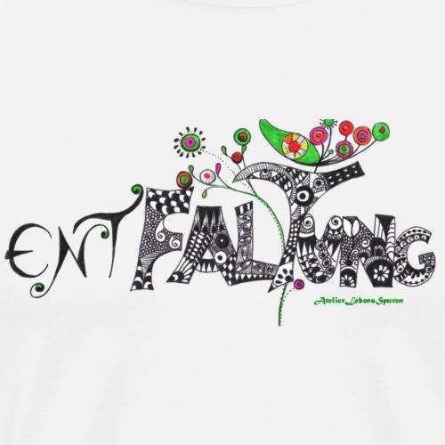 Entfaltung - Männer Premium T-Shirt