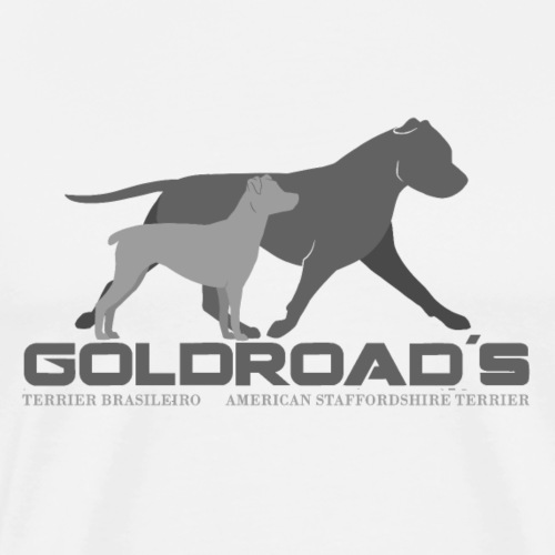 Goldroads - Premium-T-shirt herr
