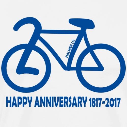 200 Jahre Rad 1817-2017 - Männer Premium T-Shirt