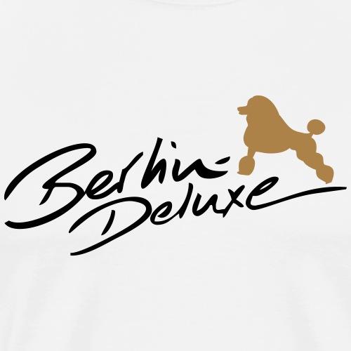 Berlin Deluxe Pudel - Männer Premium T-Shirt