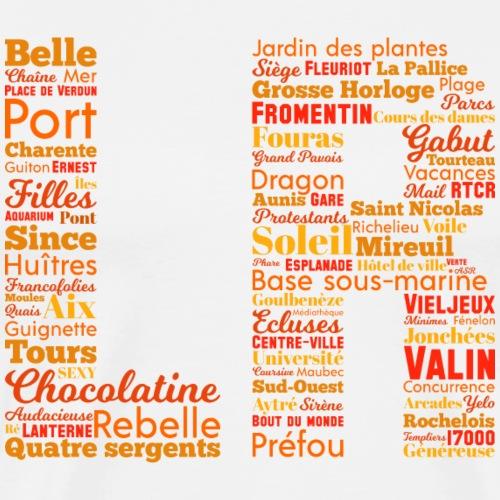 Les mots de La Rochelle - T-shirt Premium Homme